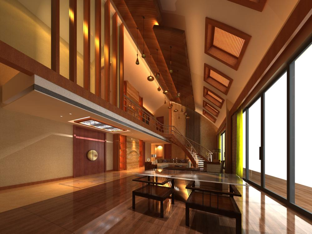 lobby 105 two 3d model max 136945