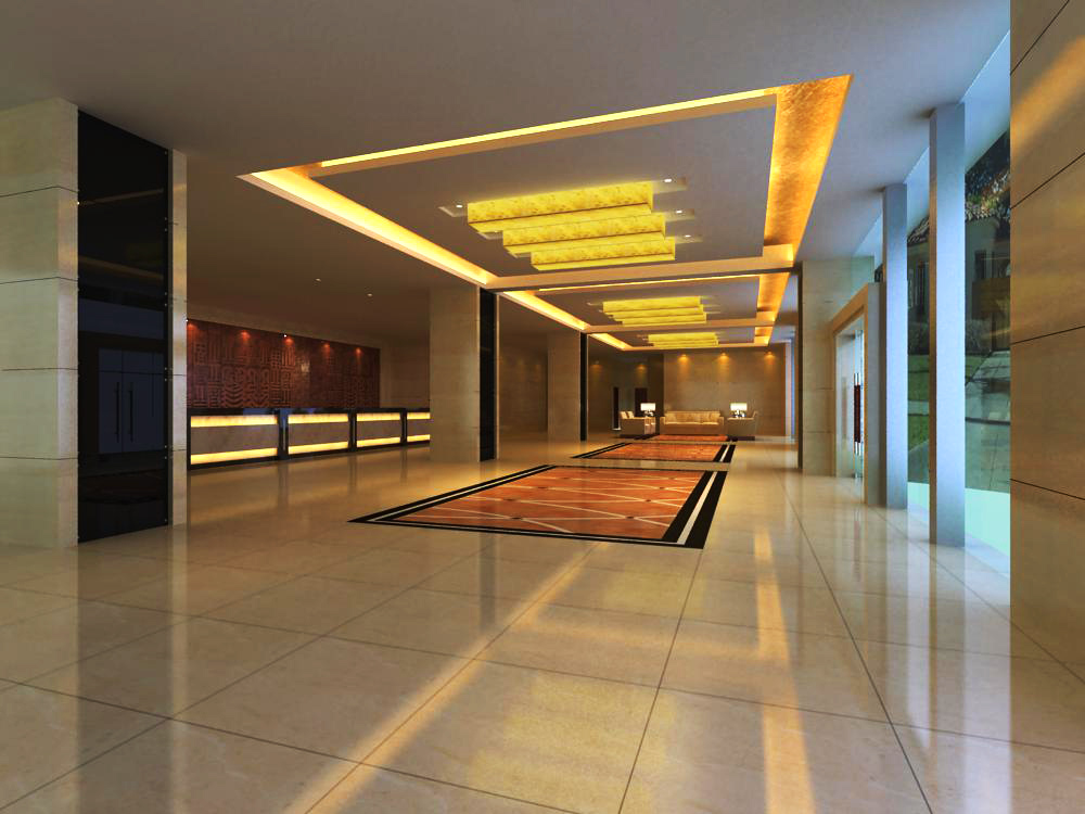 lobby 109 two 3d model max 143634