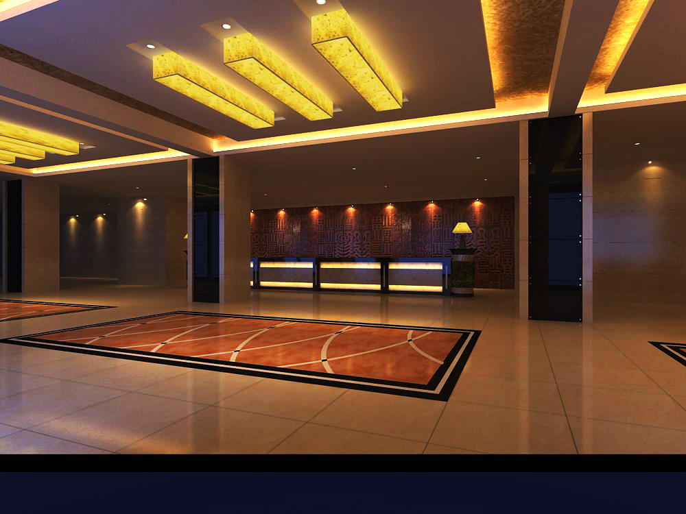 lobby 112 two 3d model max 143640