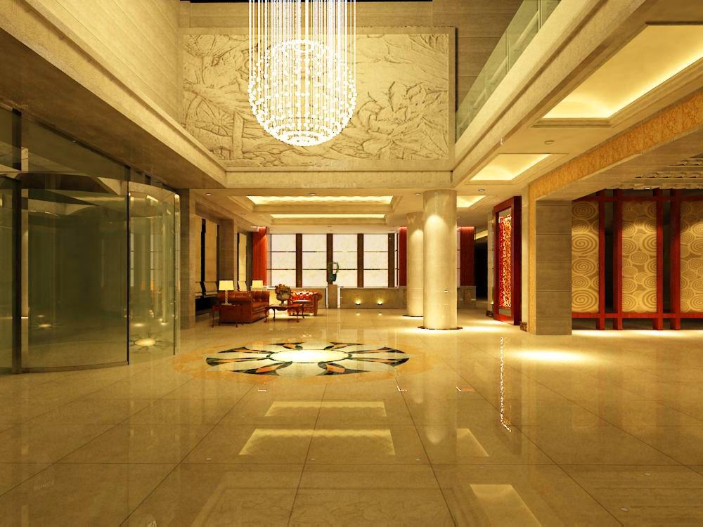 lobby 116 3d model max 136995