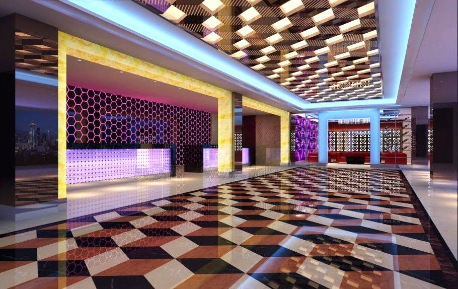 lobby 118 3d model max 136997