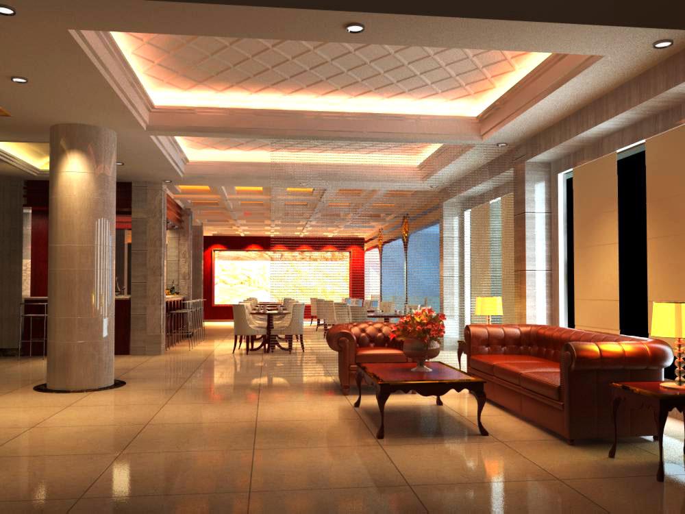 lobby 119 3d model max 136999