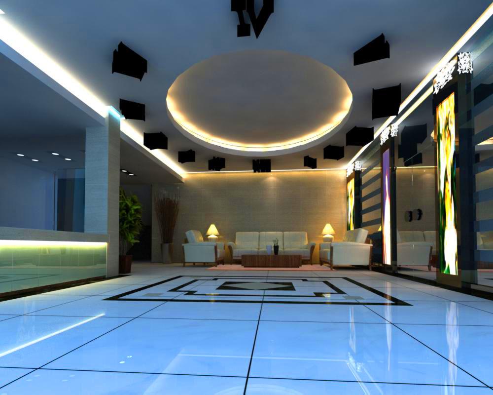 lobby 121 3d model max 137003