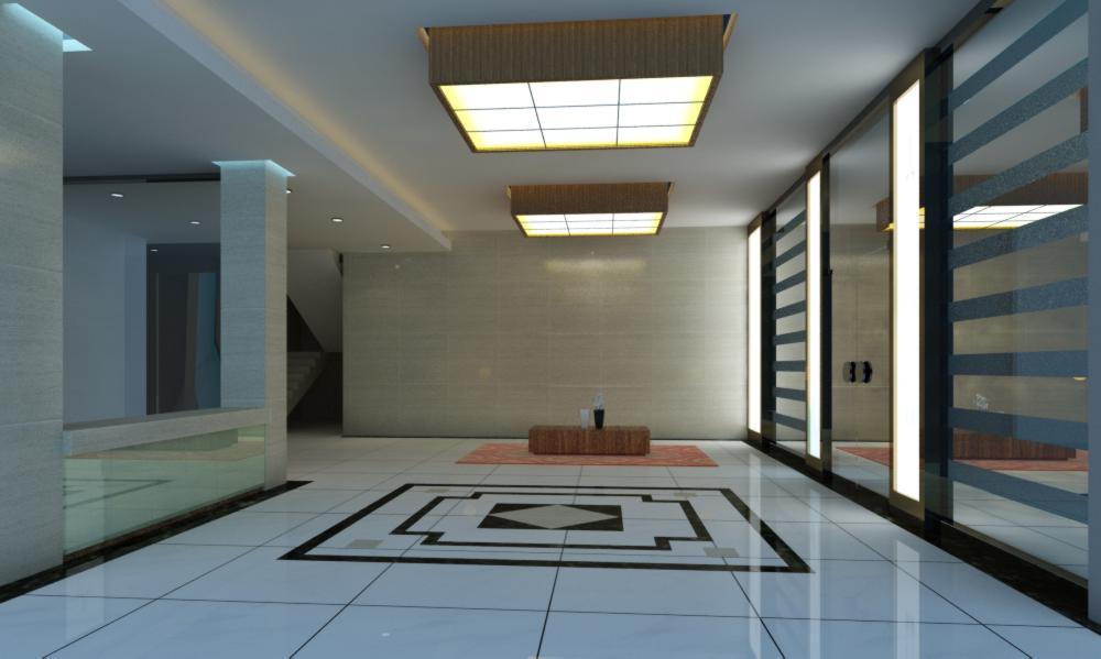 lobby 127 3d model max 137015