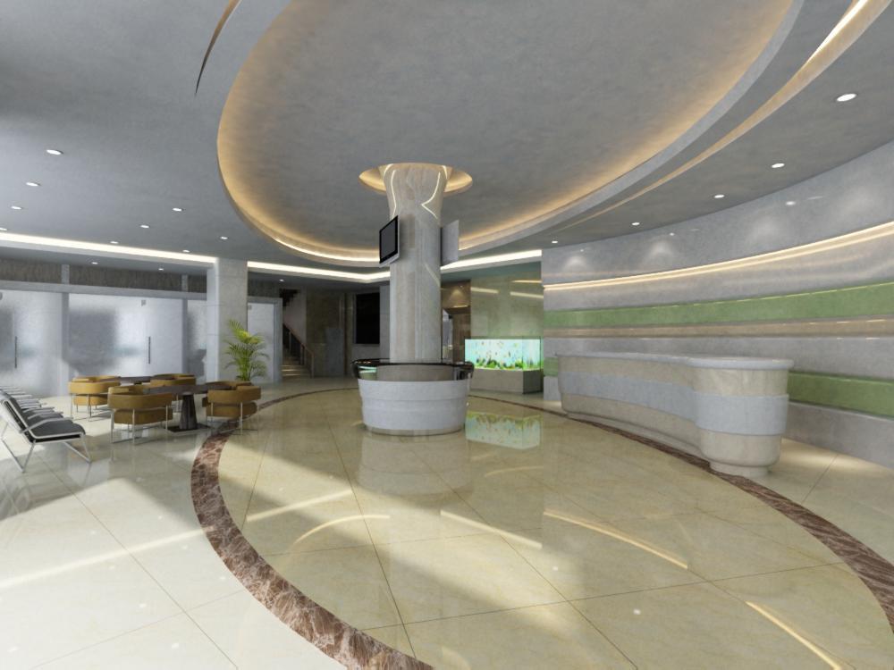 lobby 131 3d model max 137023