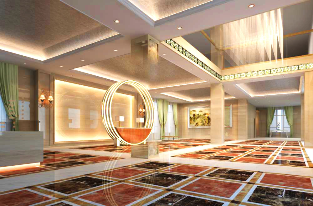 lobby 133 3d model max 137027