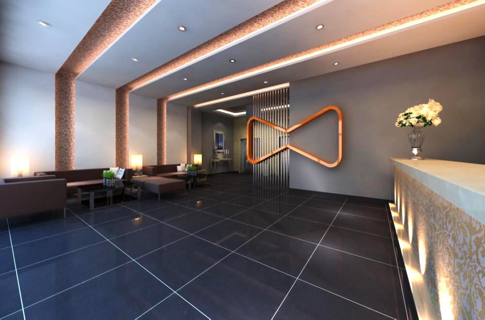 lobby 135 3d model max 137031