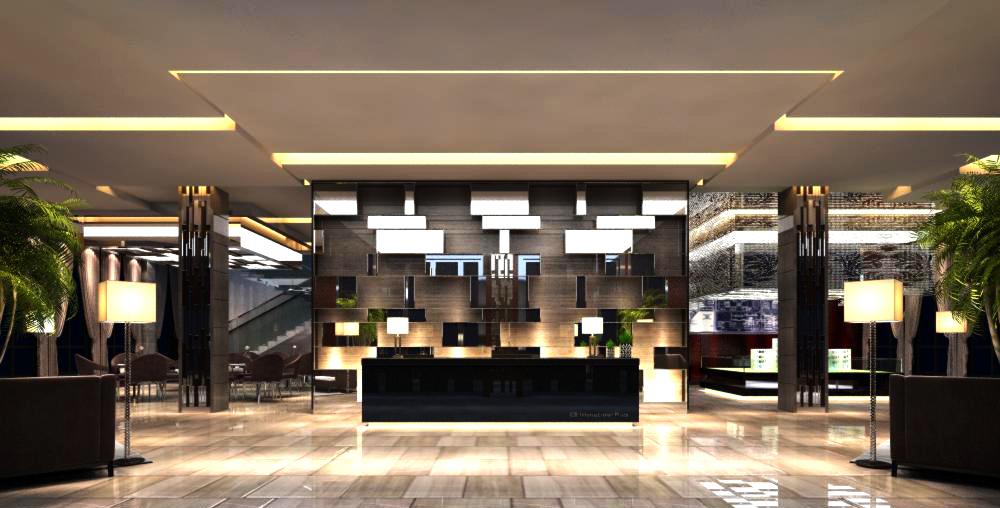 lobby 136 3d model max 137033