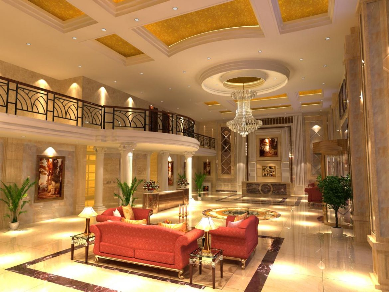 lobby 143 3d model max 137045