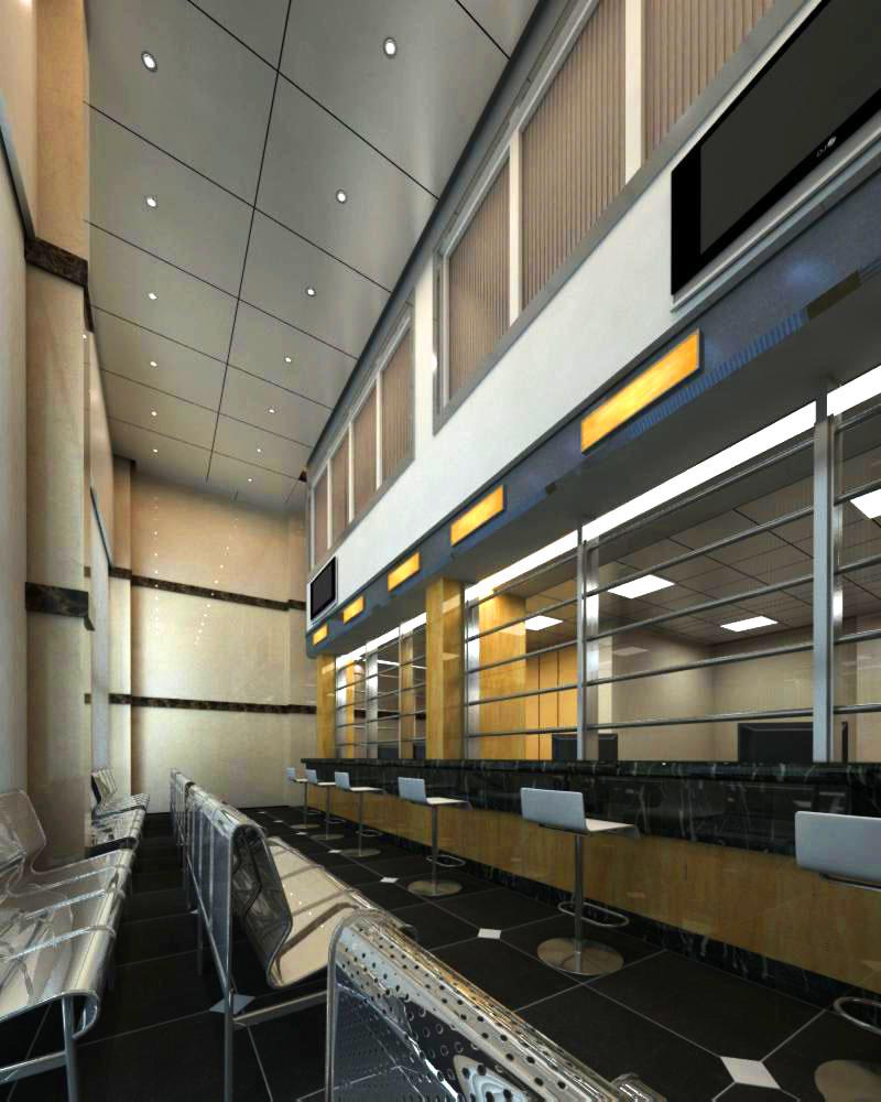 lobby 155 3d model max 137061