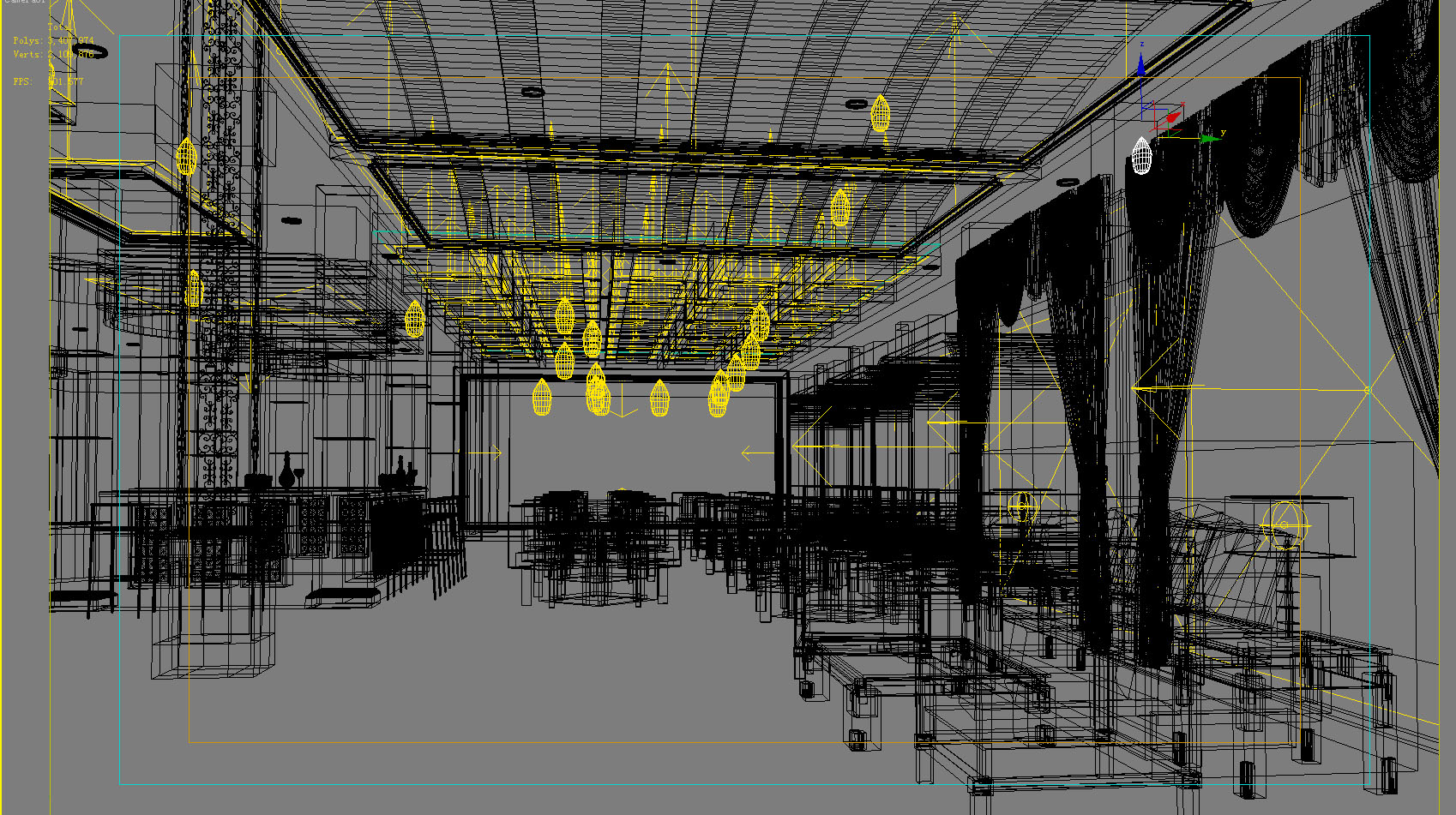 lobby 157 two 3d model max 137070