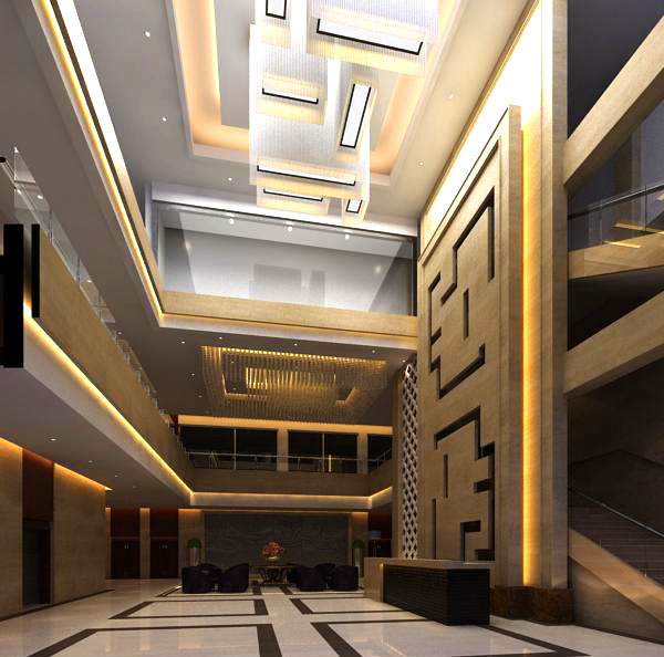 lobby 159 two 3d model max 137065