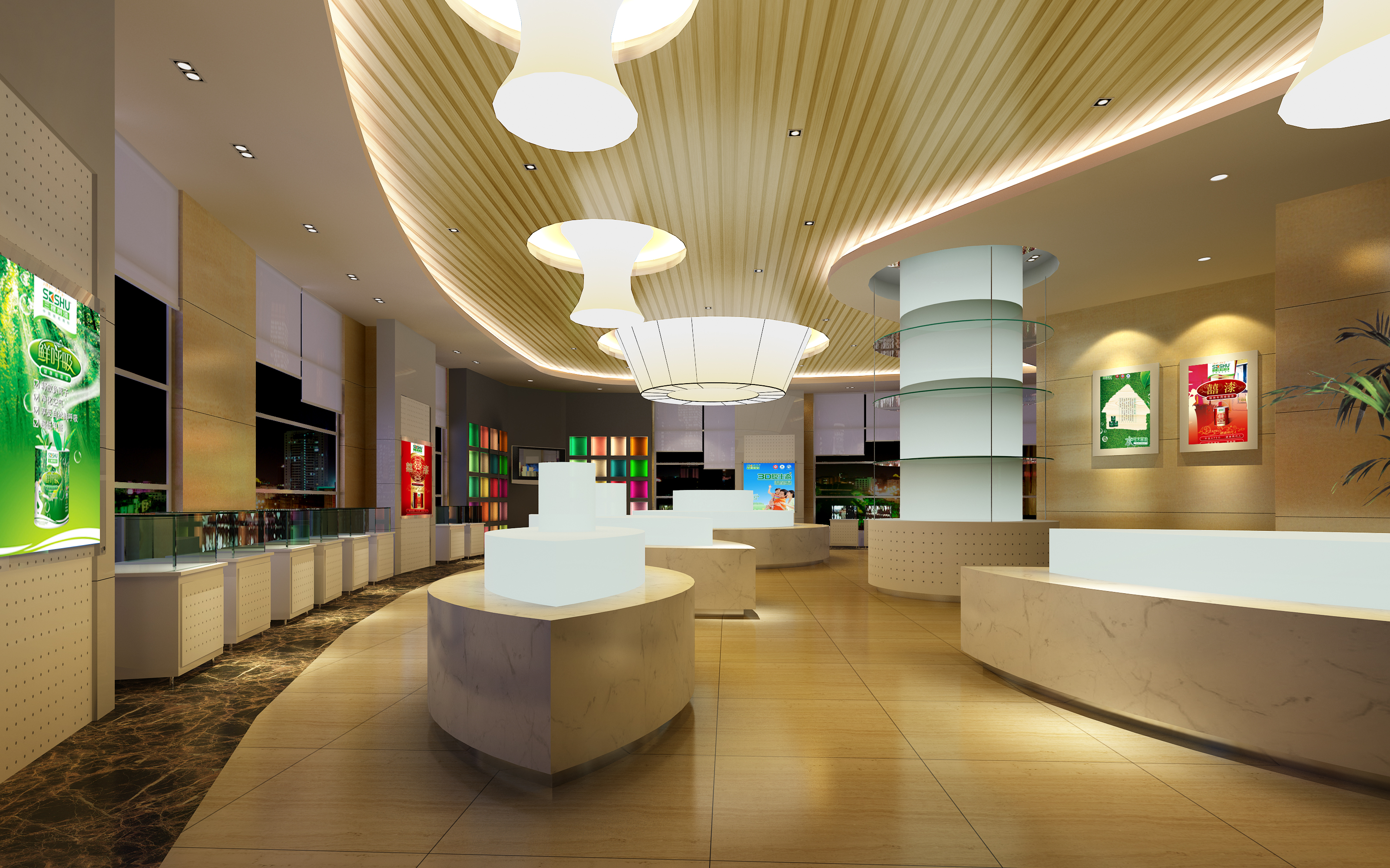lobby 170 two 3d model max 137099