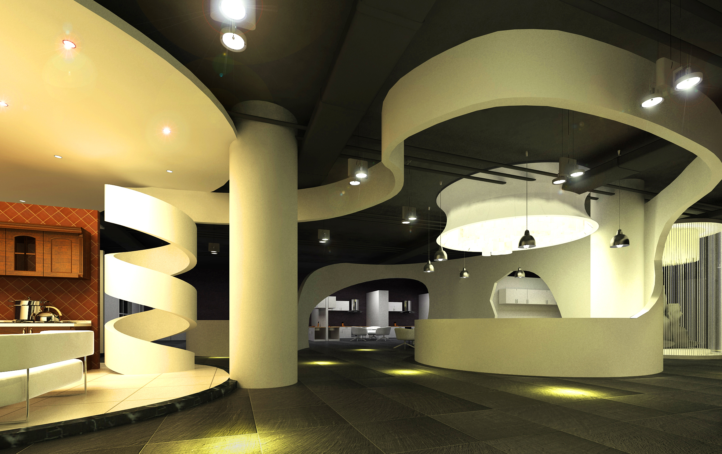 lobby 172 two 3d model max 137103
