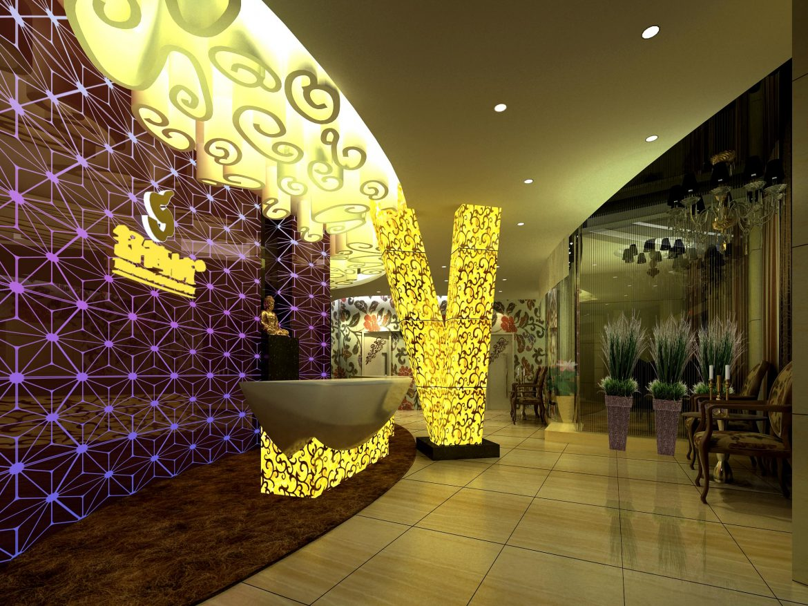 lobby 173 two 3d model max 137105