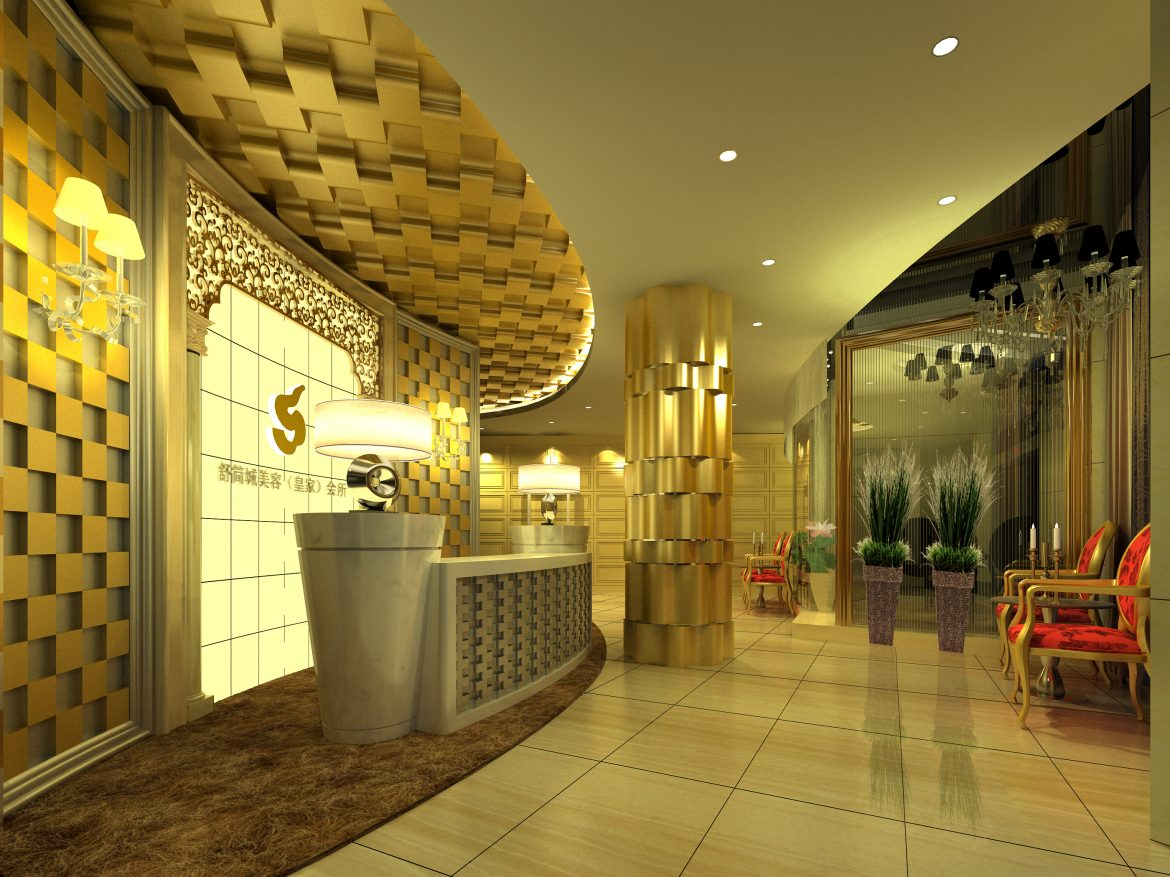 lobby 175 two 3d model max 137109