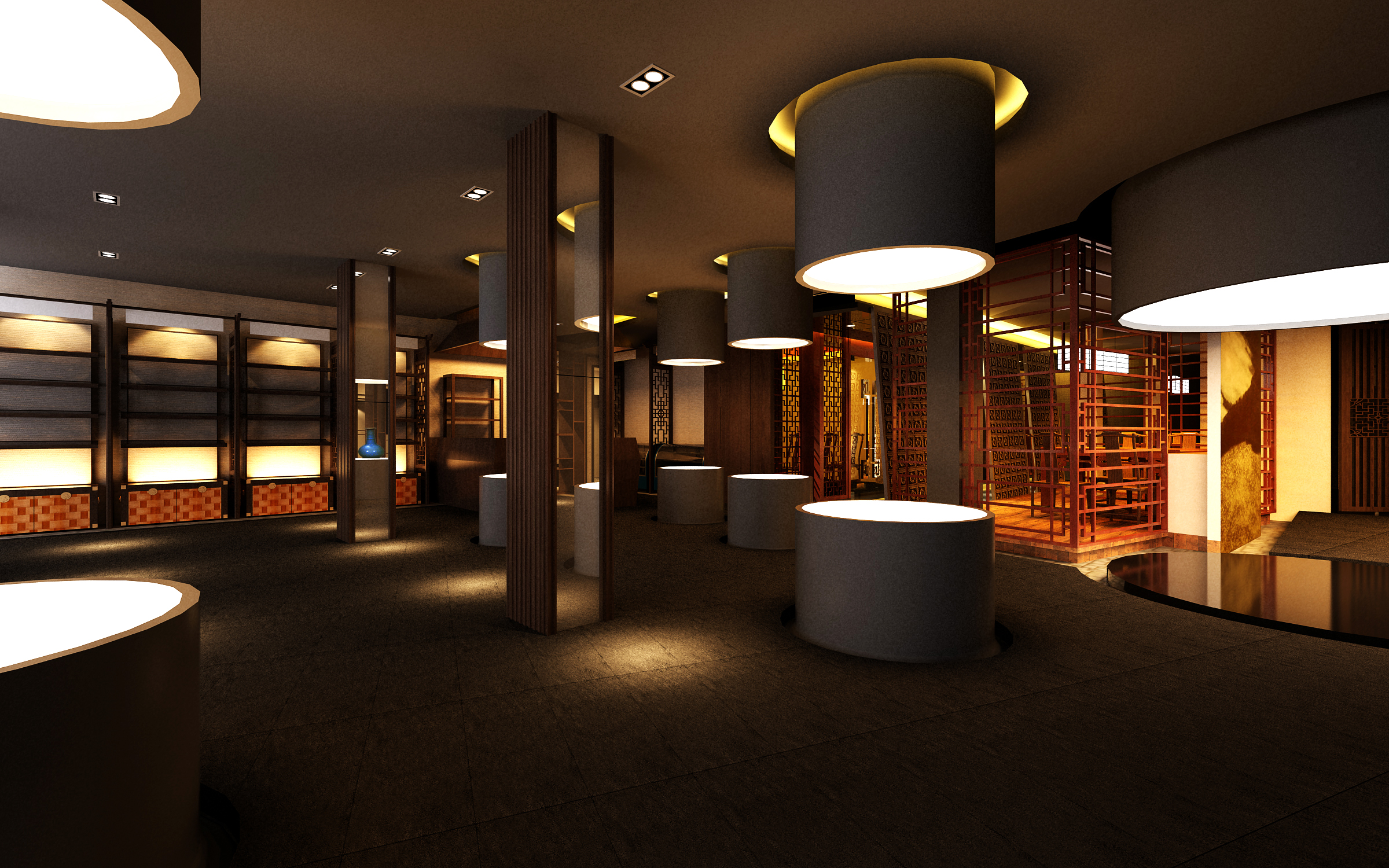 lobby 176 two 3d model max 137111