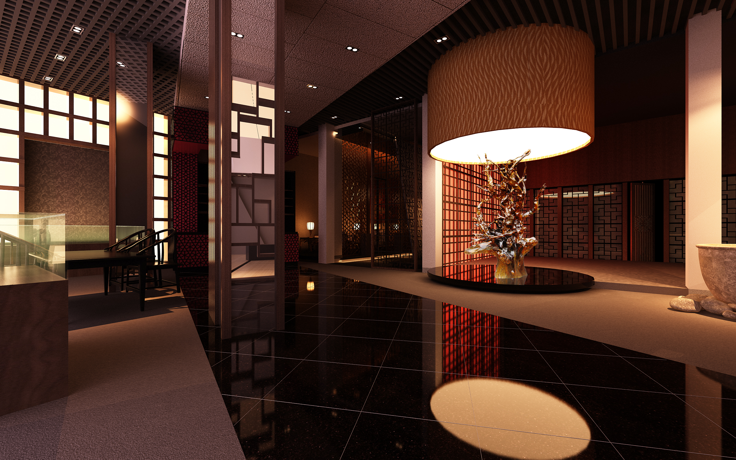 lobby 177 two 3d model max 137113