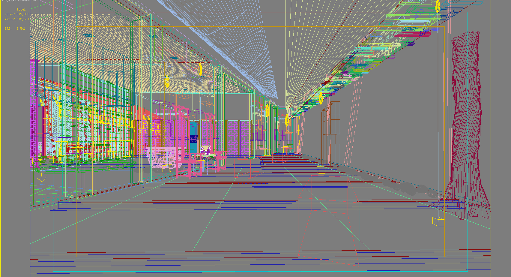 lobby 177 two 3d model max 137114