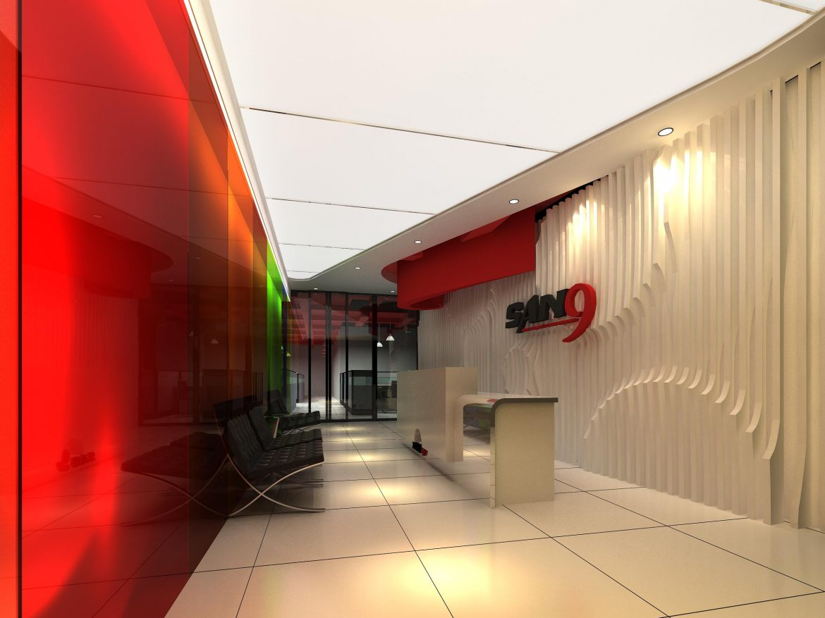 lobby 191 two 3d model max 137145