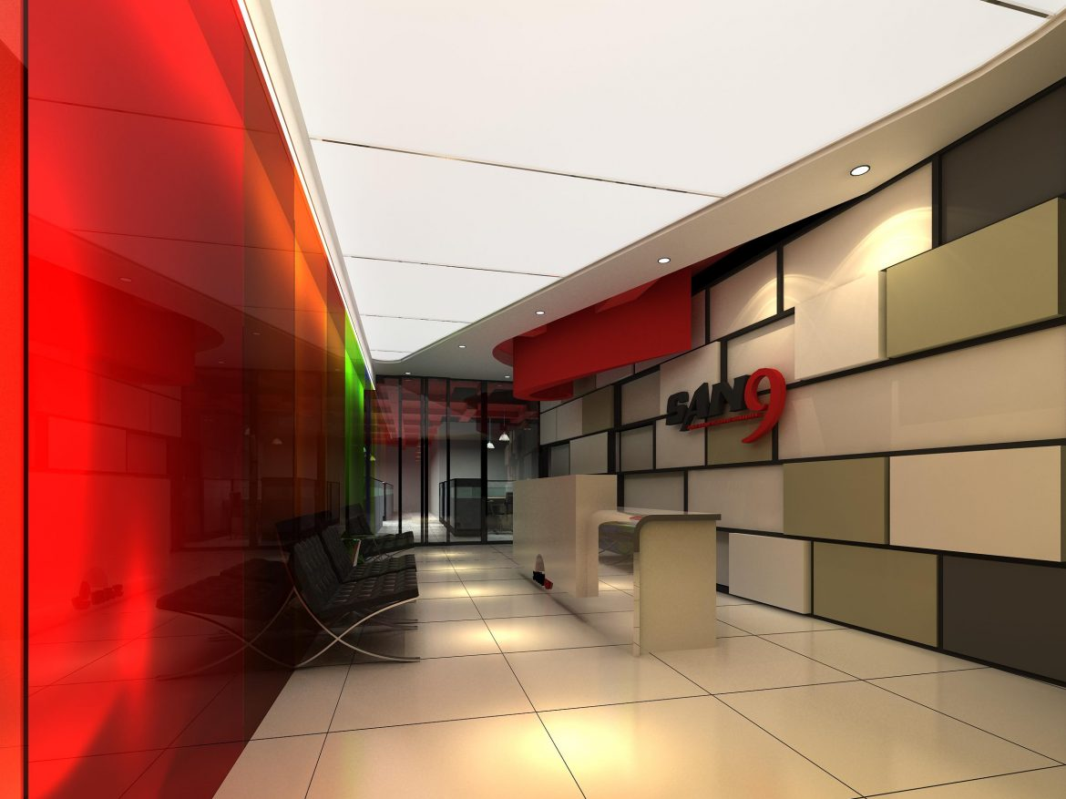 lobby 192 two 3d model max 137141