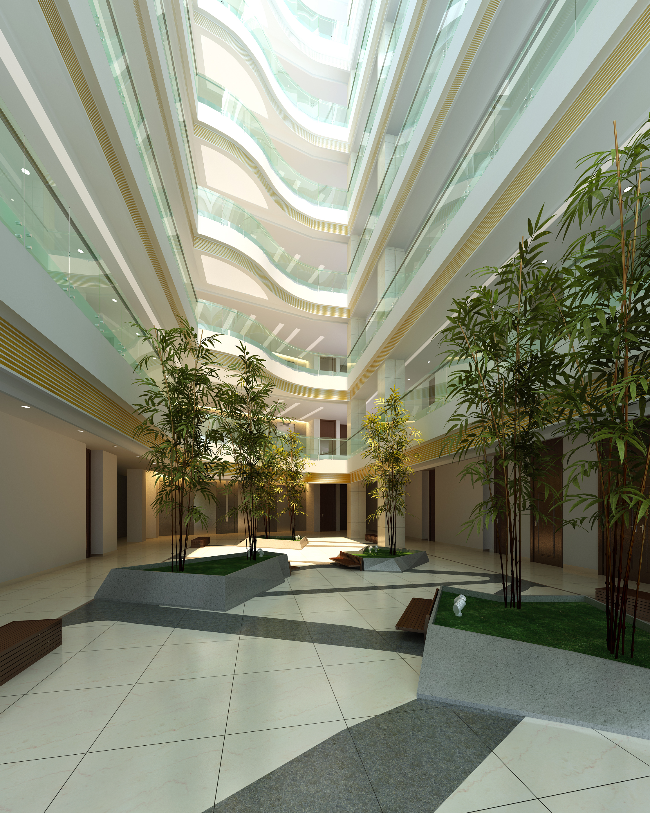 lobby 193 two 3d model max 137143