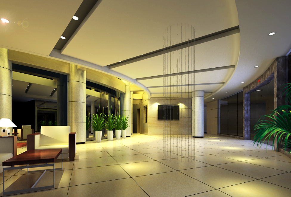 lobby 199 two 3d model max 137157