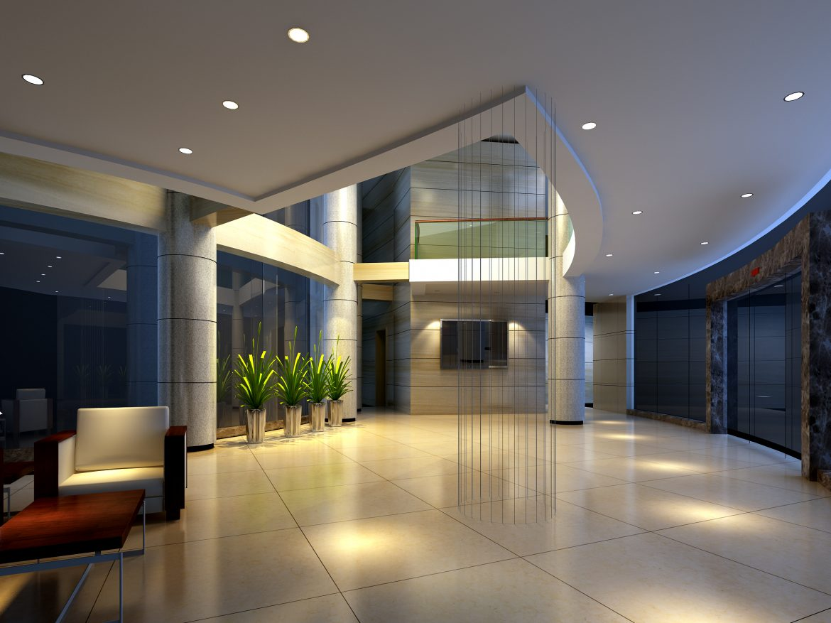 lobby 201 two 3d model max 137161