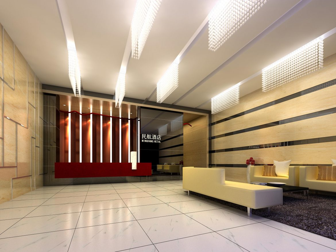 lobby 202 two 3d model max 137163