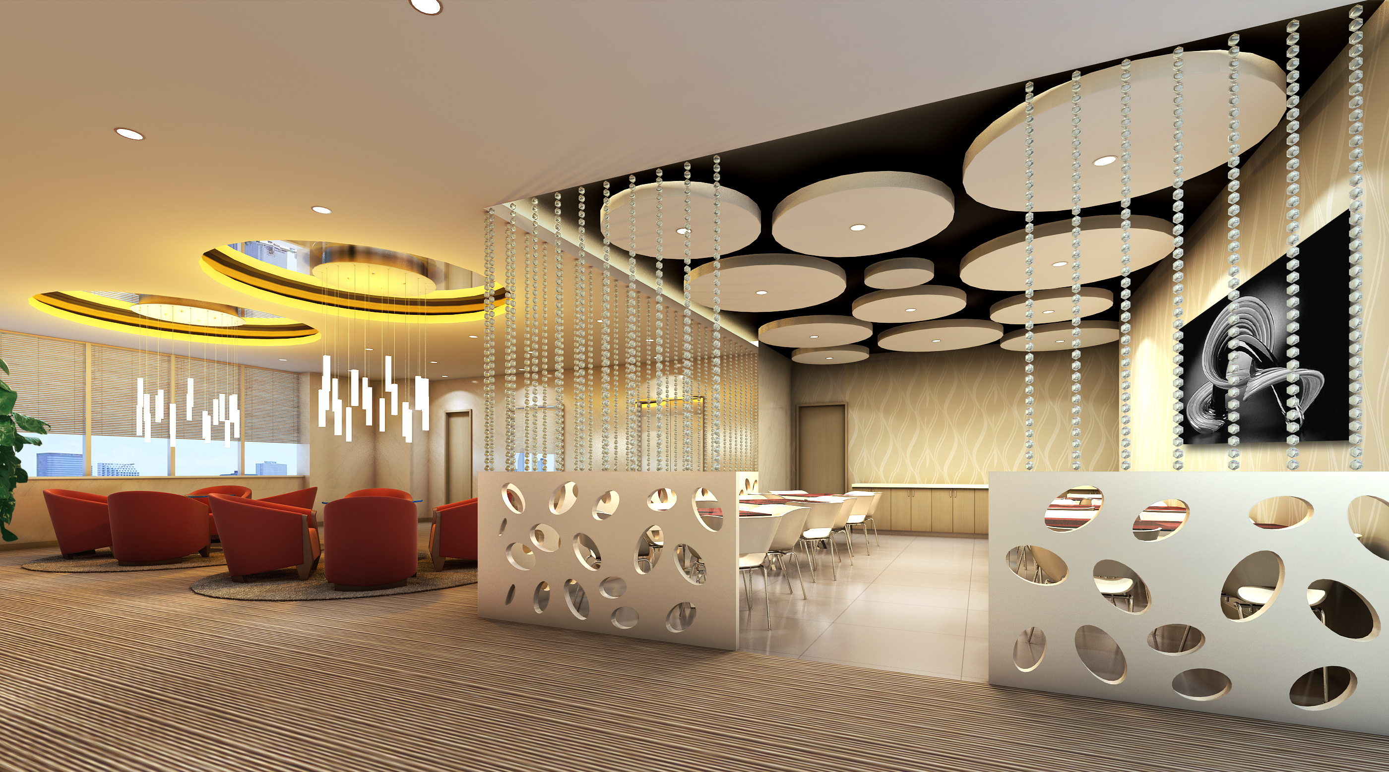 lobby 211 two 3d model max 137181