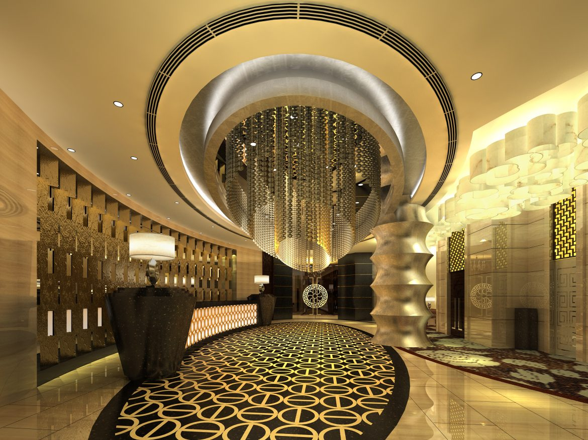 lobby 213 two 3d model max 137191