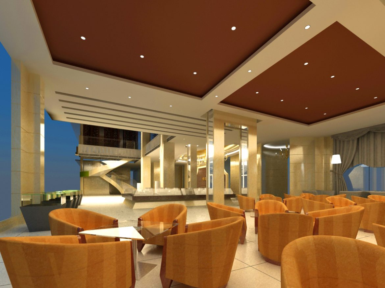 lobby 217 3d model max 137193