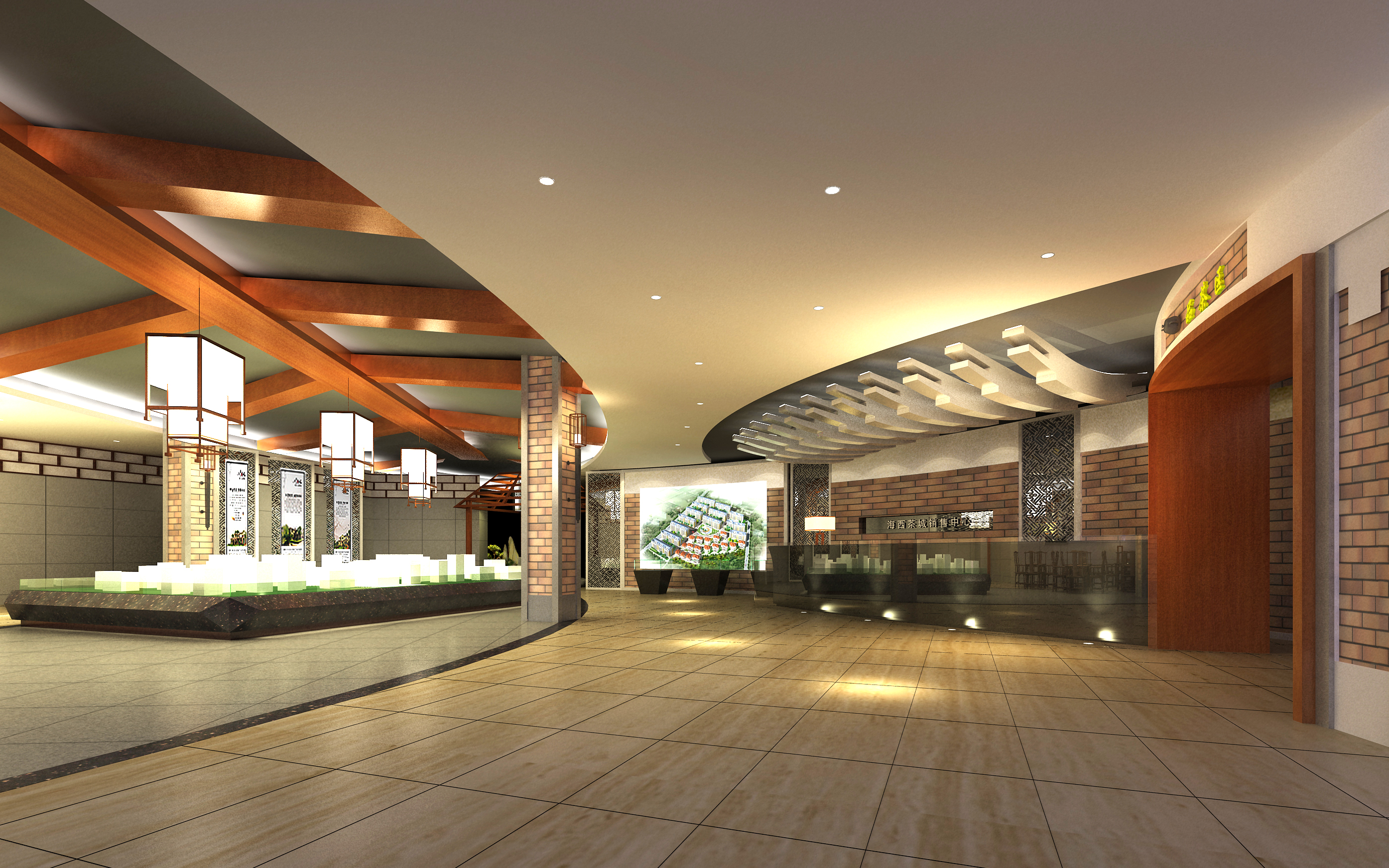 lobby 219 3d model max 137197