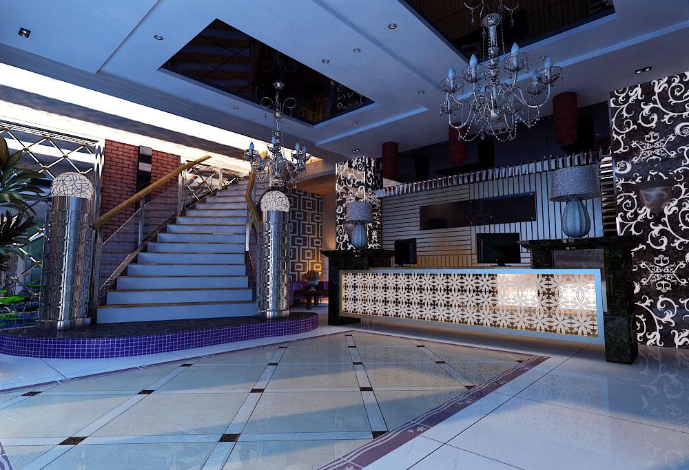 lobby 237 3d model max 143748