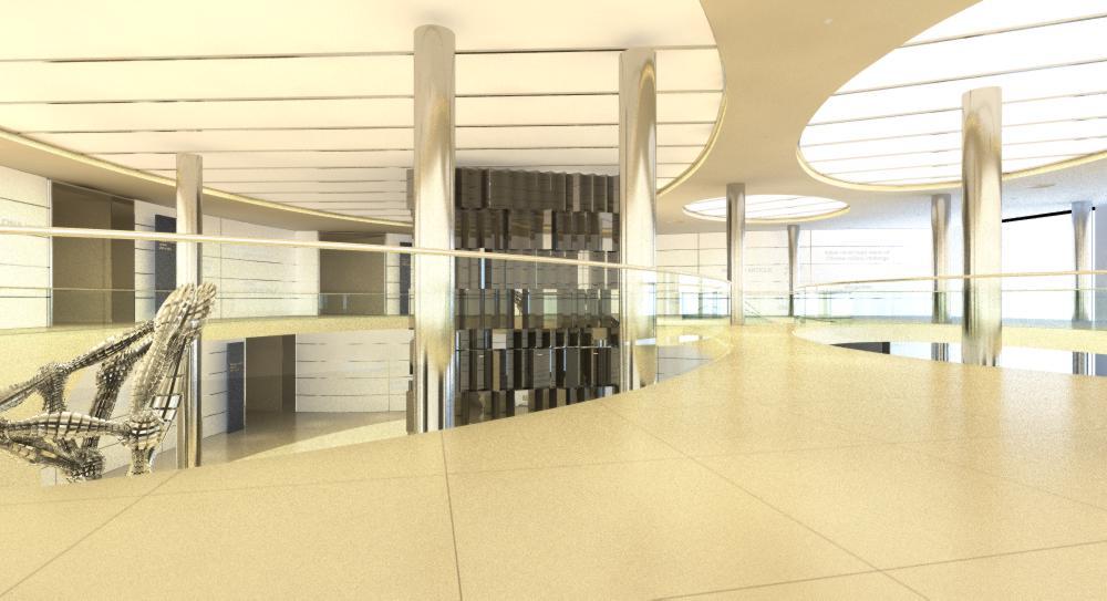 lobby area 056 3d model max 136838