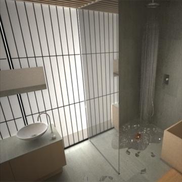 modern japanese bedroom 3d model max 92379