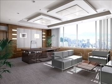 office 014 3d model 3ds max 90218