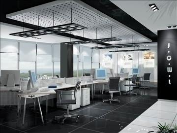 office 024 3d model 3ds max 90244