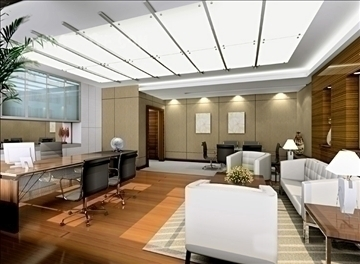 office 027 3d model 3ds max 90250