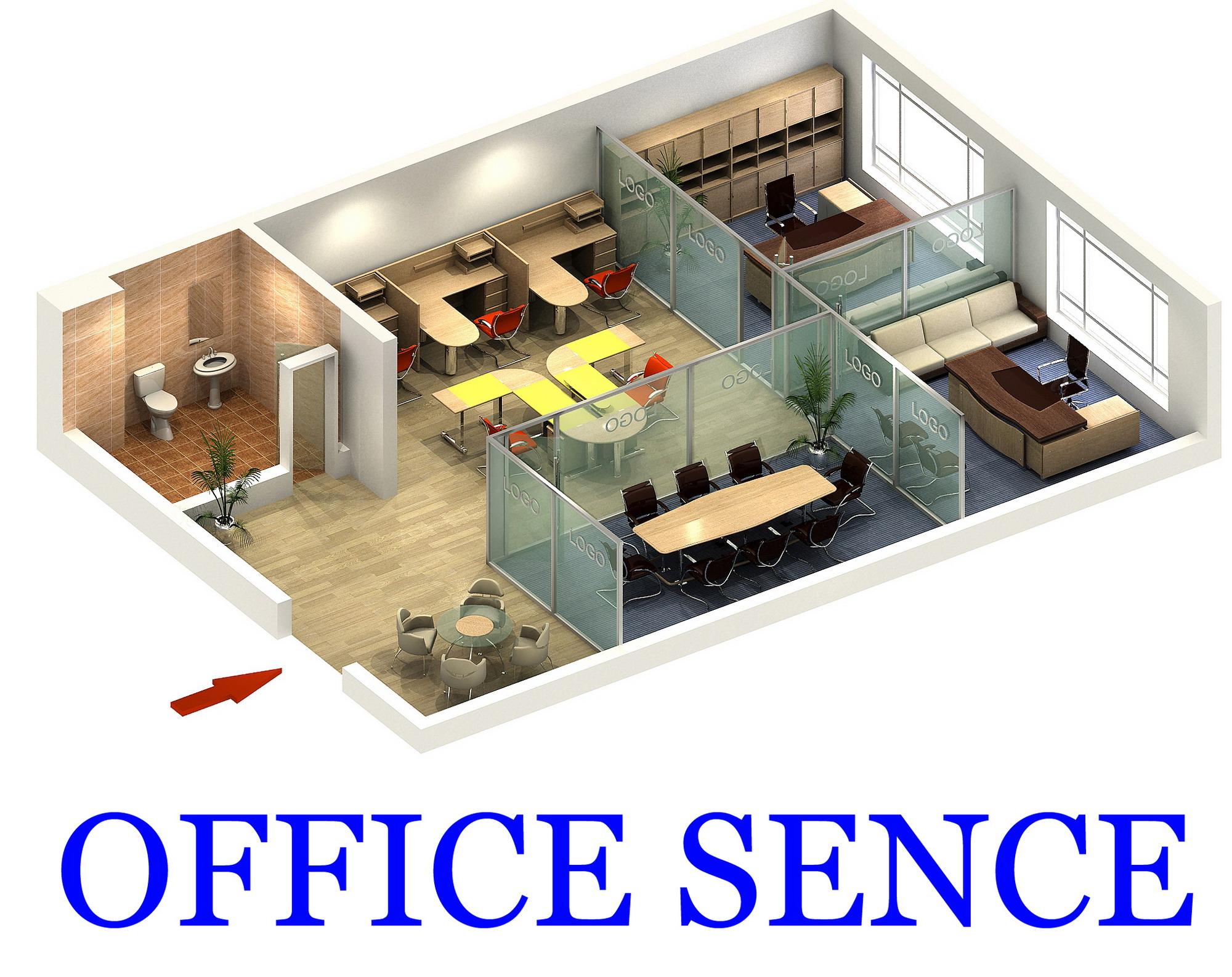 office 029 3d model max 144032