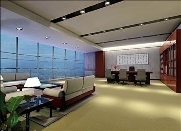 office 029 3d model 3ds max 90254