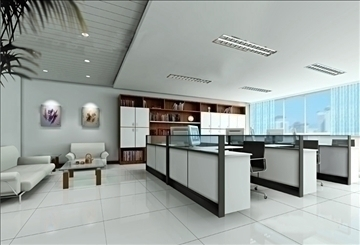 office 033 3d model 3ds max 90262