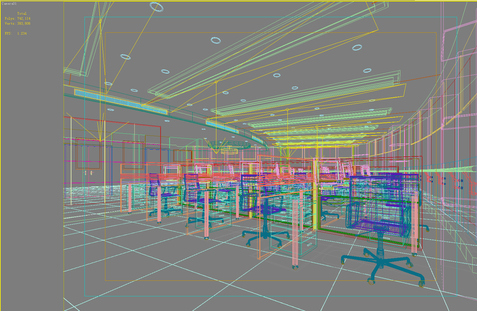 office 038 two 3d model max 137268