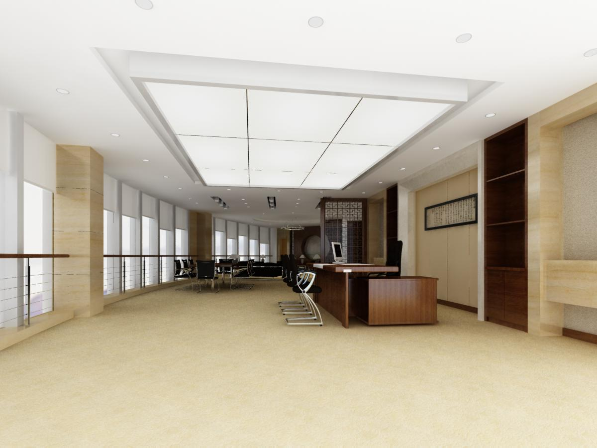office 039 two 3d model max 137269