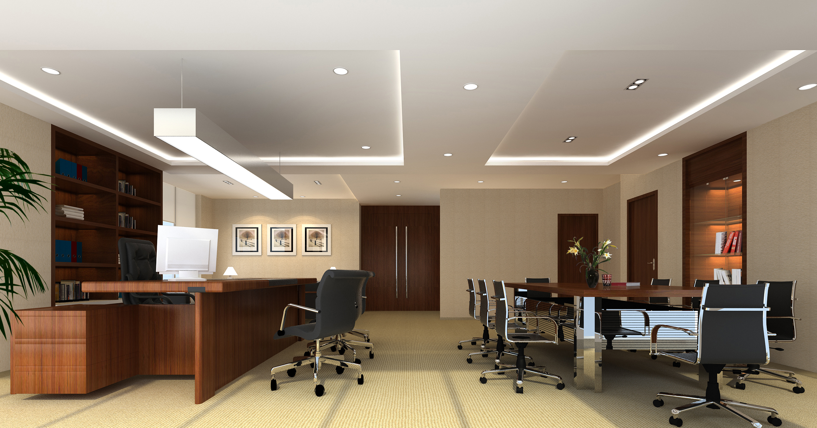 office 042 two 3d model max 137275