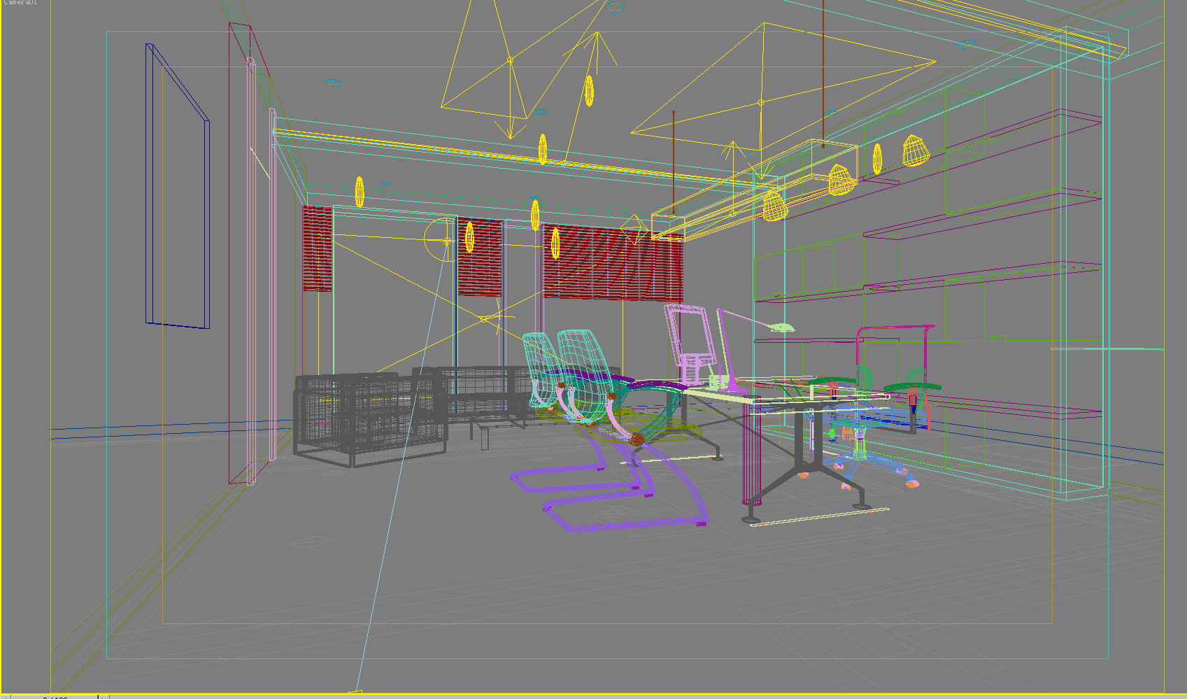 office 044 3d model max 137280