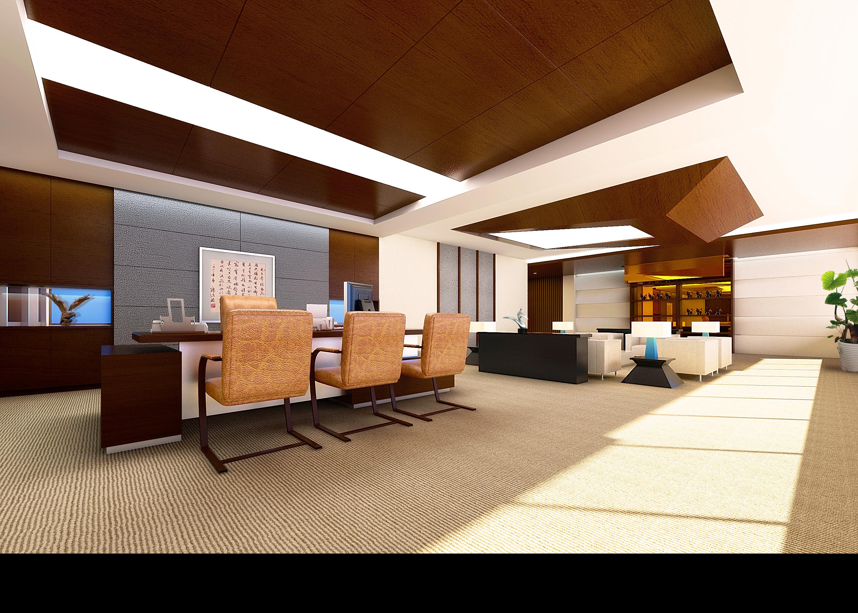 office 048-1 3d model max 137287