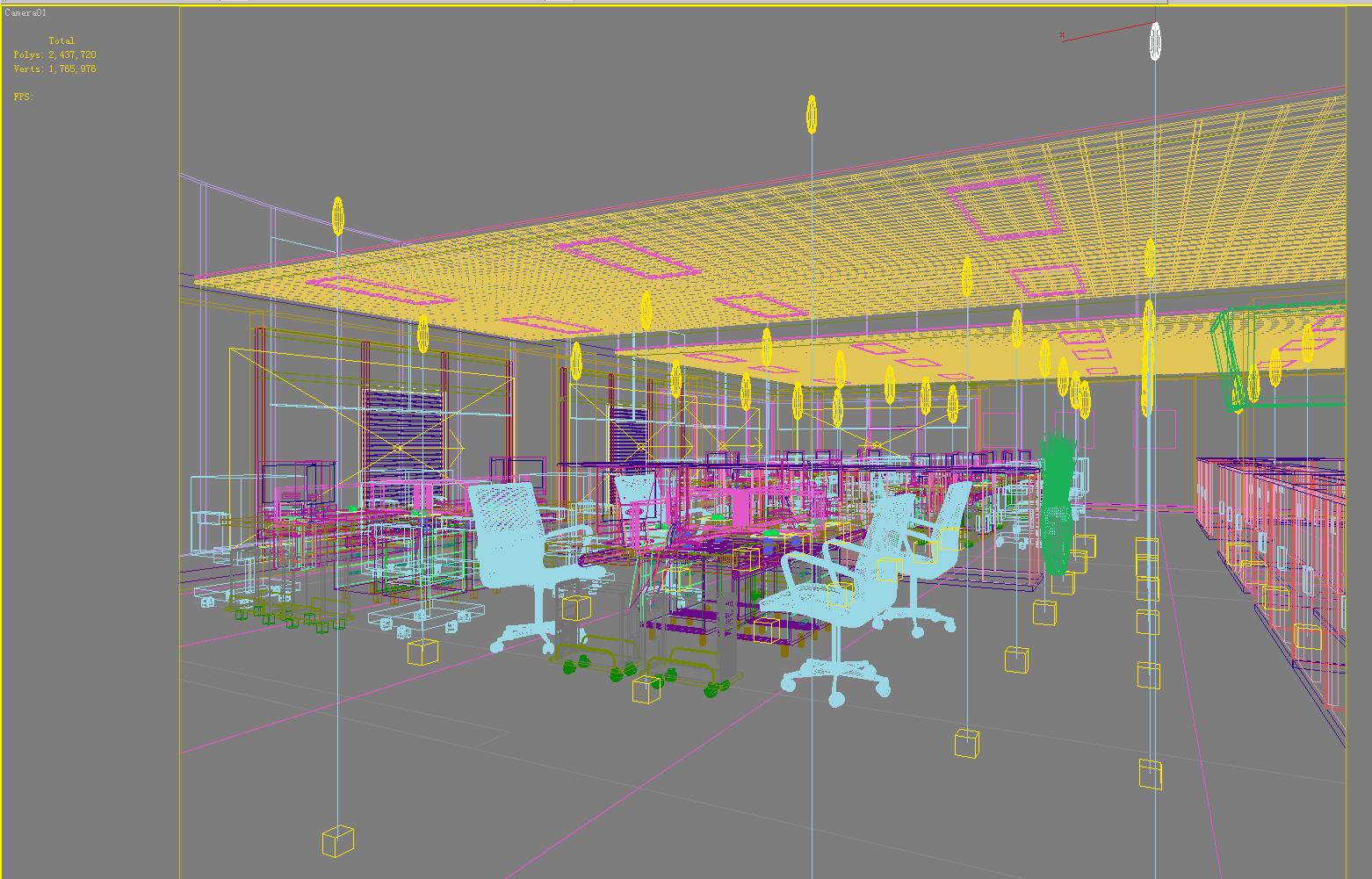 office 055 3d model max 137302