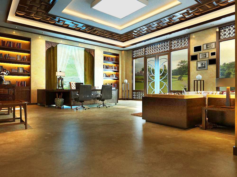 office 063 3d model max 137317
