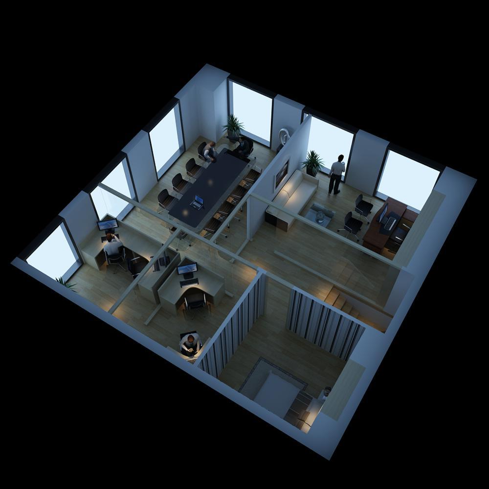 office 065 3d model max 137321